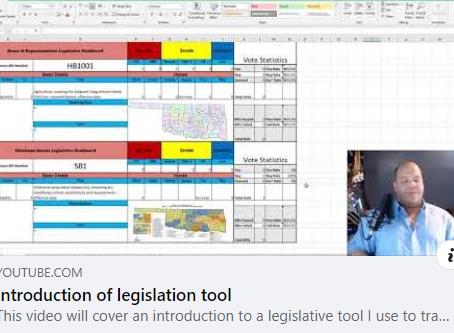 Tracking Legislation:  Kudos to Representative Logan Phillips