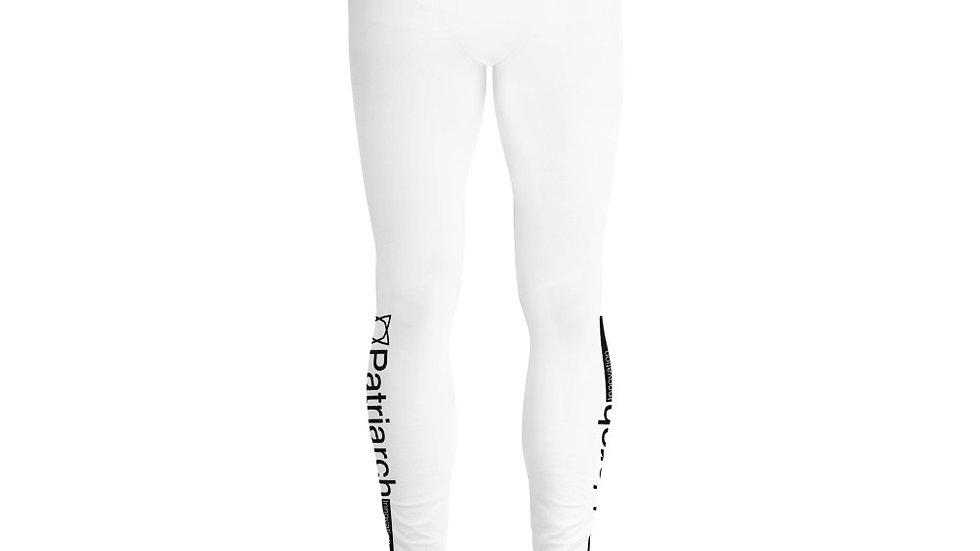 Patriarch Men's Leggings White