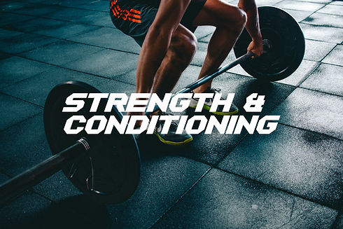 Strength and Conditioning Categorie Butt