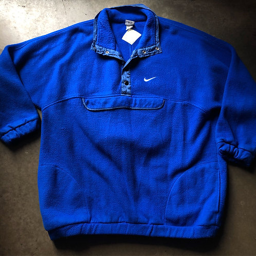 Vintage Nike Fleece Anorak Jacket Sz XL