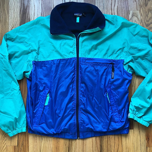 Vintage Patagonia Color Block Windbreaker Jacket Sz M