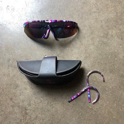 Vintage Bolle Sunglasses W Case