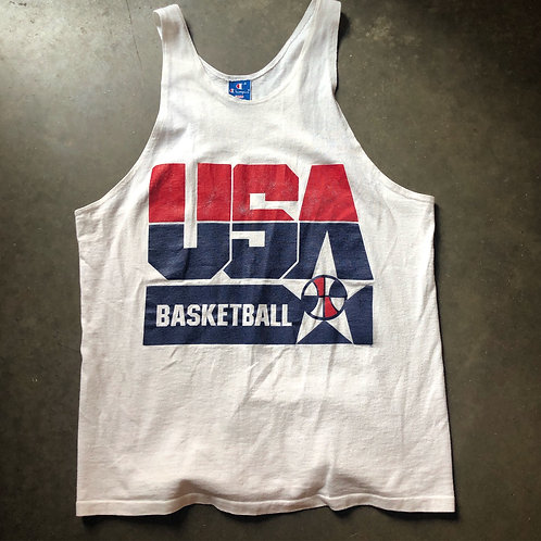 Vintage Champion USA Dream Team Tank Sz L