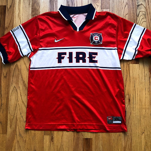 Vintage Nike Chicago Fire Jersey Sz XL