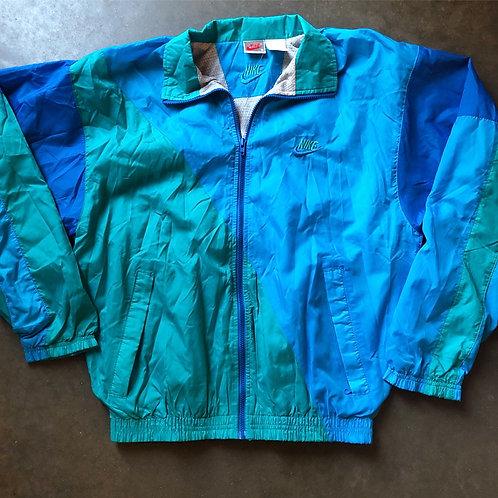 Vintage Nike Gray Tag Easter Sunday Windbreaker Jacket Sz S
