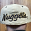 Thumbnail: Vintage Sports Specialties Denver Nuggets Script Wool Fitted Hat 7 1/4