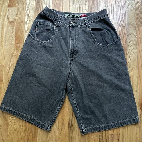 Vintage JNCO USA Wide Leg Baggy Jean Shorts Sz 36