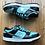 Thumbnail: 2005 Nike Dunk Low SB Diamond Supply Co Tiffany Sz 9 (304292-402)