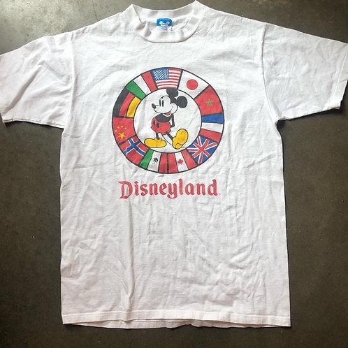 Vintage Disneyland Mickey Mouse T Shirt Tee Sz L