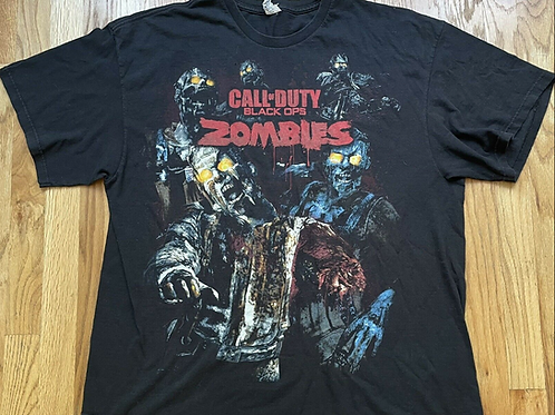 Delta Call Of Duty Black Ops Zombies All Over Print Promo T Shirt 2XL