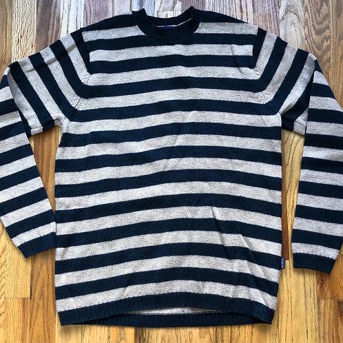 Patagonia LambsWool Striped Crewneck Sweater Sz M