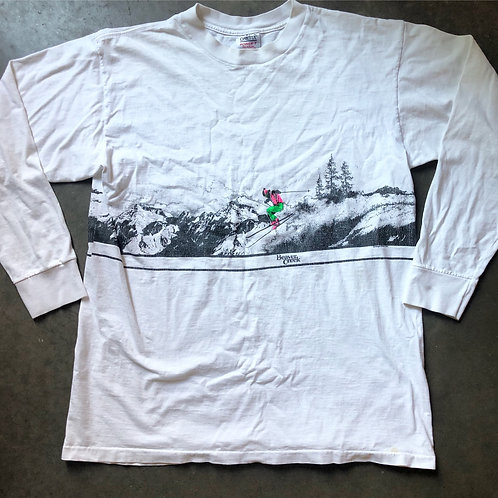 Vintage Onieta Beaver Creek Ski Resort Long Sleeve T Shirt Tee Sz XL