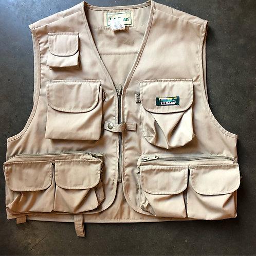 Vintage LL Bean Fishermen's Vest Sz M