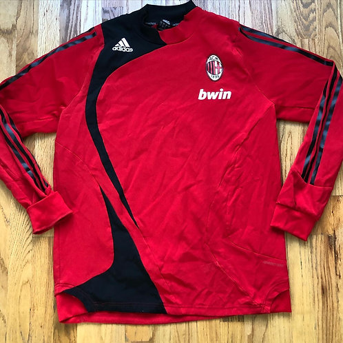 Adidas AC Milan Warm Up Practice Jersey Sz XL