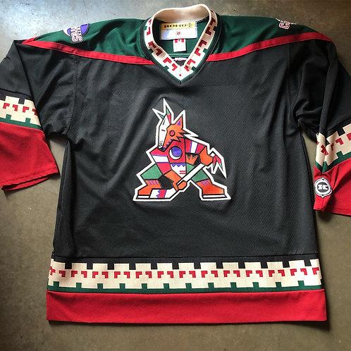 Vintage Koho CCM Phoenix Coyotes Kachina Jersey Sz XL