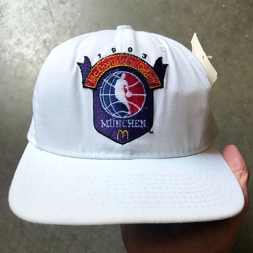 NWT Vintage Starter 1993 McDonald's Open Basketball Tournament Snapback Hat