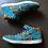 Thumbnail: Nike SB Dunk Mid Premium Peacock Sz 9.5 (314381-331)