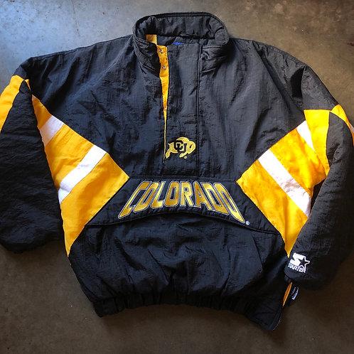 Vintage Colorado Buffaloes CU Buffs Starter Jacket Sz L