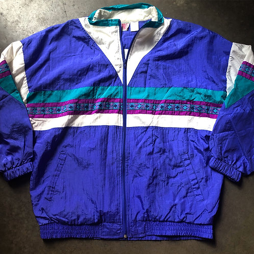 Vintage Bolo Spirit Windbreaker Jacket Sz M/L