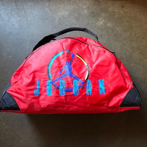 Vintage Nike Gray Tag Air Jordan Gym Duffle Bag