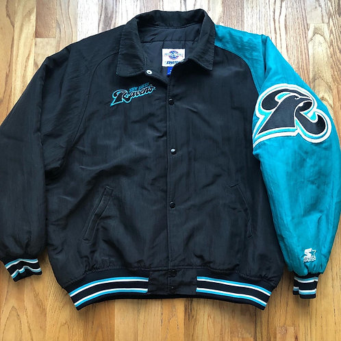 Vintage Starter New Haven Ravens Bomber Jacket Sz XL