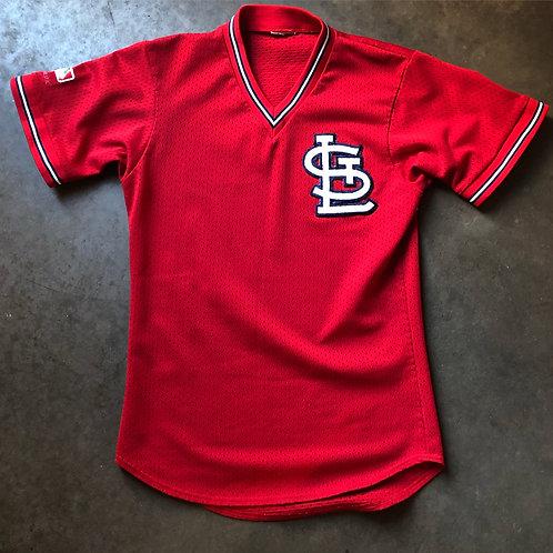 Vintage Majestic USA St Louis Cardinals Jersey Sz Slim M