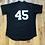 Thumbnail: Vintage Majestic Chicago White Sox Micheal Jordan BP Jersey Sz XL