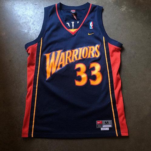 Nike Swingman Golden State Warriors Antawn Jamison Jersey Sz M