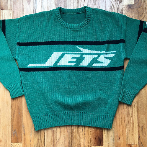 Vintage Cliff Engle New York Jets Sweater Sz M