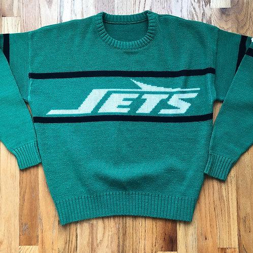 Vintage Cliff Engle New York Jets Sweater Sz M