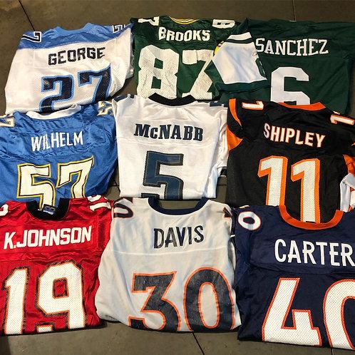 Vintage NFL Jersey Lot 9 Jerseys All Men's Sz
