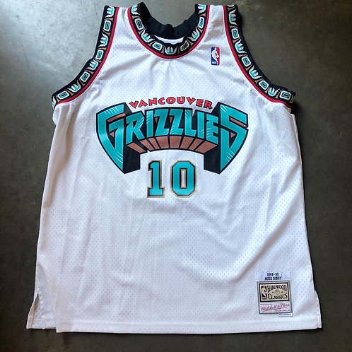 Mitchell & Ness 1998-99 Vancouver Grizzlies Mike Bibby HWC Swingman Jersey Sz 2X