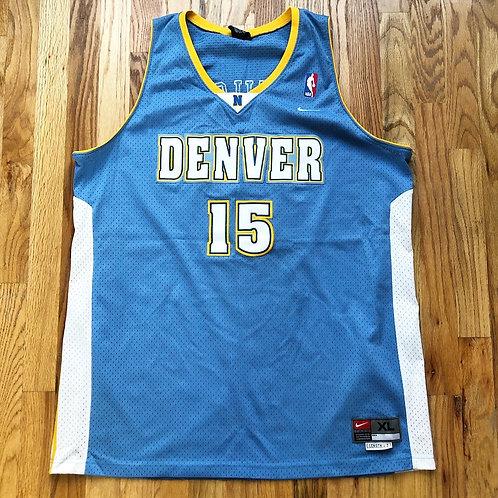 Nike Team Denver Nuggets Carmelo Anthony Swingman Jersey Sz XL