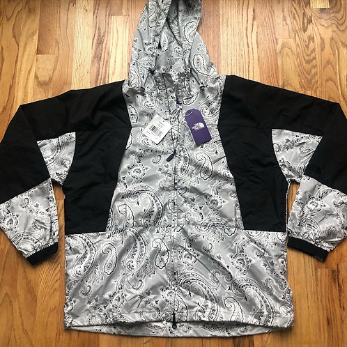 NWT The North Face Purple Label Paisley Mountain Wind Parka Jacket Sz L