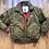 Thumbnail: Vintage Gabrielle Down Puffer Bomber Jacket Sz XL