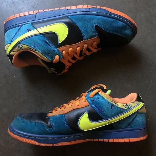 2008 Nike Dunk SB Low Skate or Die Sz 9.5 (304292-073)