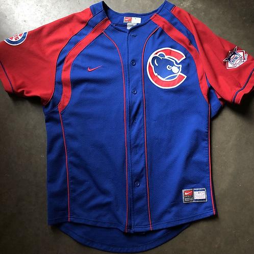Vintage Nike Chicago Cubs Derrek Lee Jersey Sz M