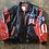 Thumbnail: Vintage Michael Hoban Where Am I? Leather Jacket Sz M