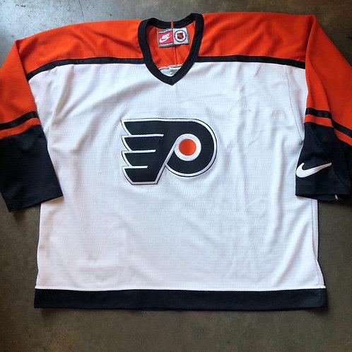 Vintage Nike Philadelphia Flyers Jersey Sz 2XL