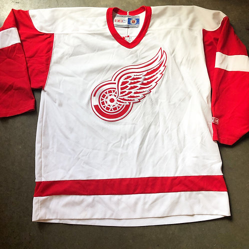 Vintage CCM Detroit Red Wings Jersey Sz XL