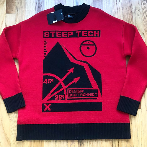 NWT The North Face Steep Tech Wool Sweater Sz M