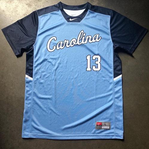 Nike North Carolina Tar Heels Team Issued Sample Jersey Sz L