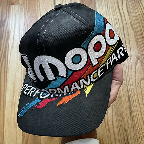 Vintage Mopar Performance Parts Paintbrush Splash Snapback Hat