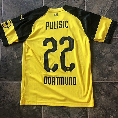 Puma Borussia Dortmund Christian Pulisic Jersey Kit Sz M