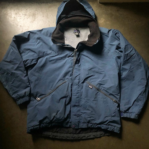 Vintage Patagonia Fleece Lined Bomber Jacket Sz M