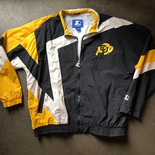 Vintage Starter Colorado Buffaloes Windbreaker Jacket Sz XL