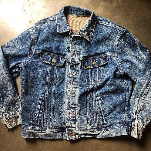 Vintage Lee Riders Denim Jean Jacket Sz L