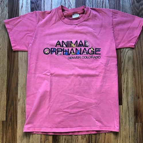 Vintage 80s Steadman Denver Animal Orphanage T Shirt Tee Sz S/M