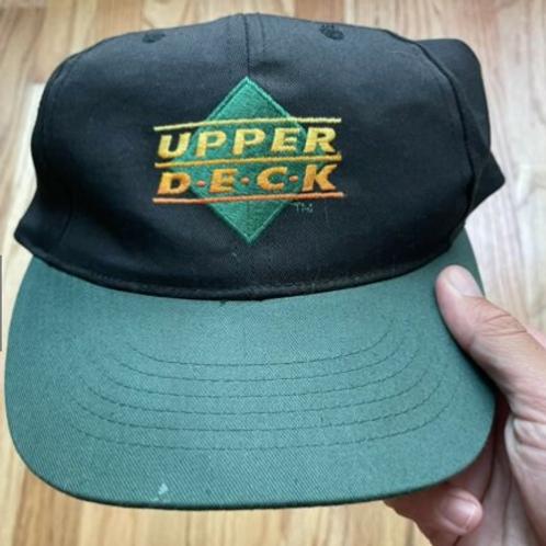Vintage Upper Deck Cards Snapback Hat