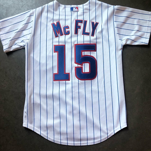Majestic Chicago Cubs Marty McFly Jersey Sz Youth S